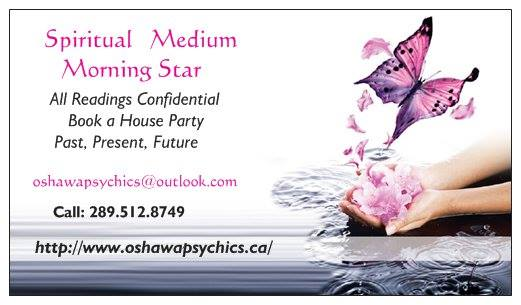 Oshawa Psychics Past Present Future